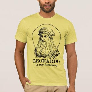 Leonardo is My Homeboy T-Shirt
