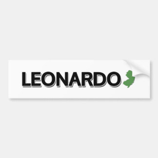 Leonardo, New Jersey Bumper Stickers
