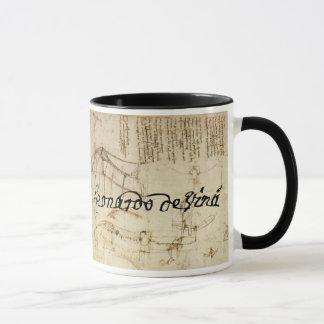 Leonardo on Art Mug