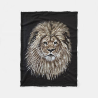 Leonardo the Lion Fleece Blanket