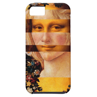 Leonardo's Mona Lisa & Botticelli's Flora Tough iPhone 5 Case