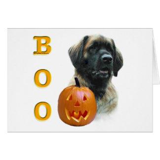 Leonberger Boo Card