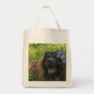 Leonberger Columbine Tote Bag