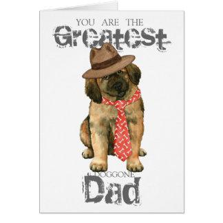 Leonberger Dad Card