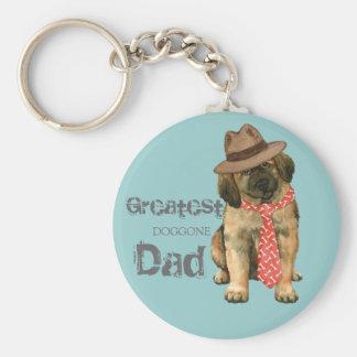 Leonberger Dad Key Ring