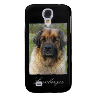 Leonberger dog iphone 3G case, beautiful photo Galaxy S4 Cover