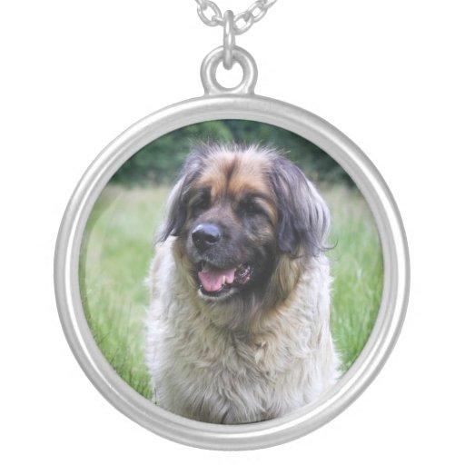 Leonberger dog necklace, gift idea