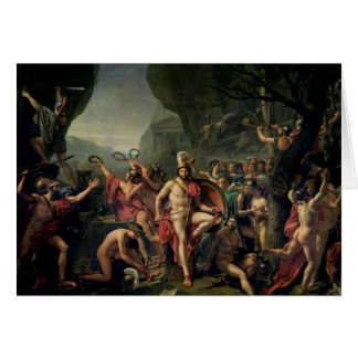 Leonidas at Thermopylae Card