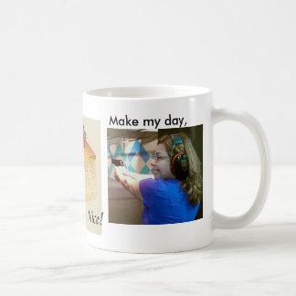 Leon's cheesecake club coffee mug