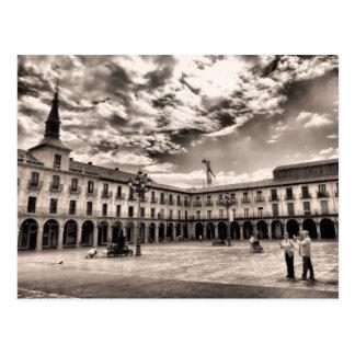 Leon's Plaza Mayor Postcard