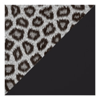 Leopard1 - 60.96cm x 60.96cm and value poster