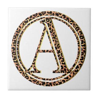 leopard A Tile