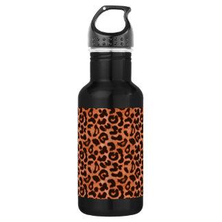 Leopard Aluminum 532 Ml Water Bottle
