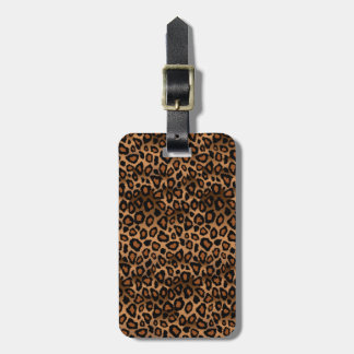 Leopard Animal Print | DIY Text Tags For Luggage