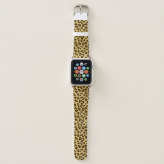 Leopard Animal Print Pattern Apple Watch Band