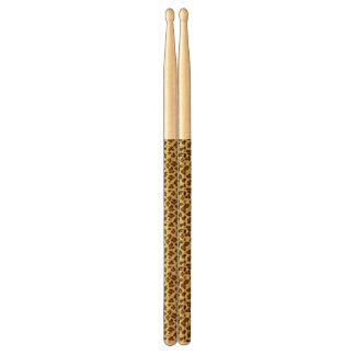 Leopard Animal Print Pattern Drumsticks