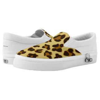 Leopard Animal Print Pattern Shoes