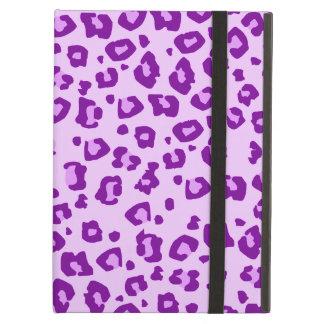 Leopard animal print purple ipad powis case
