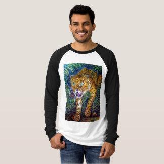 leopard baseball shirt