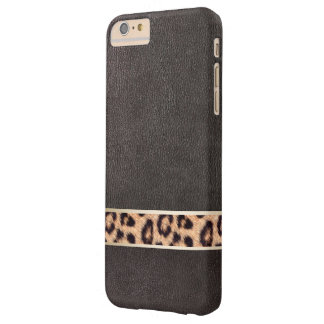 Leopard Belt Faux Leather iPhone 6 Plus Case