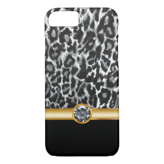 Leopard Bling Style iPhone 7 Case