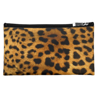 Leopard Body Fur Skin Case Cover Cosmetic Bags
