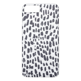 Leopard Brush Print iPhone 8 Plus/7 Plus Case