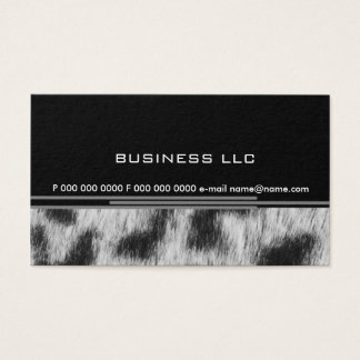 Leopard Business Card