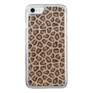 Leopard Carved iPhone 8/7 Case