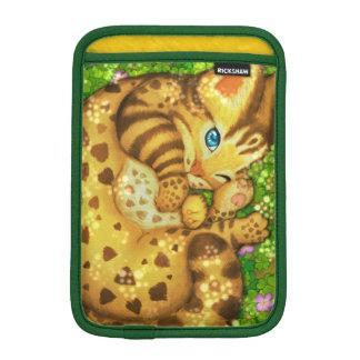 Leopard cat  iPad Sleeves