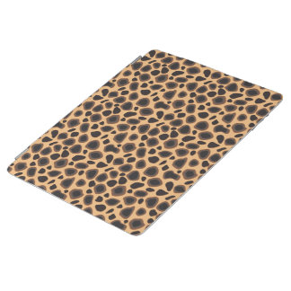 Leopard Cheetah Brown Animal Print Pattern iPad Cover