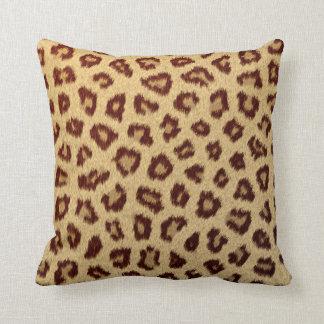 leopard cheetah cushion