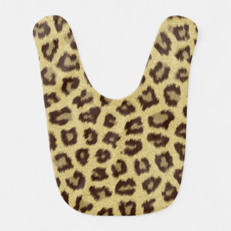 Leopard / Cheetah Print Bib