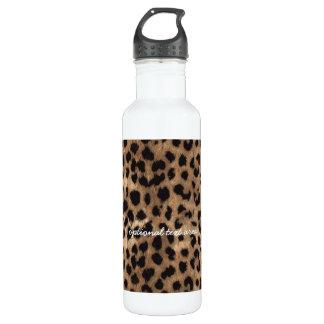 Leopard Cheetah Print Glamour Girls 710 Ml Water Bottle
