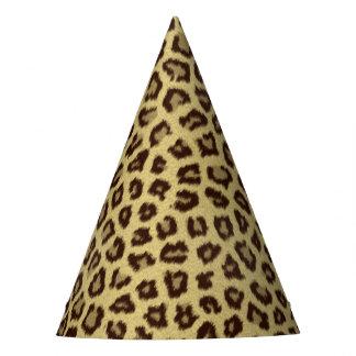 Leopard / Cheetah Print Party Hat