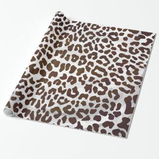 Leopard Chocolate Print
