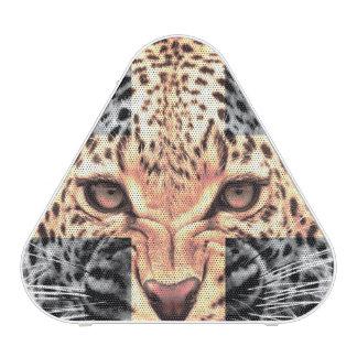 Leopard Cross Hipster Speaker