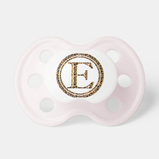 leopard E Baby Pacifiers