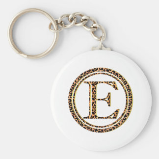 leopard E Key Ring