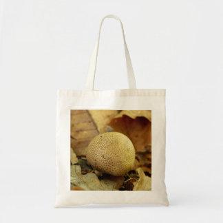 Leopard Earthball Fungus Tote Bag
