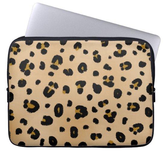 Leopard Electronics Bag