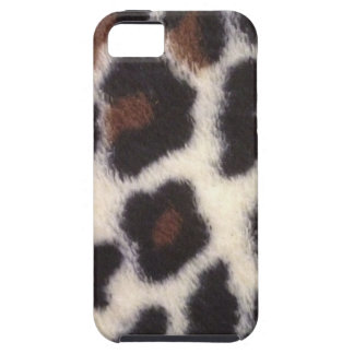 Leopard Fluff iPhone 5 Cases