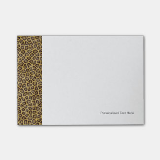 Leopard Fur Post-it Notes