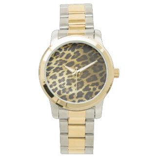 Leopard Fur Print Watch