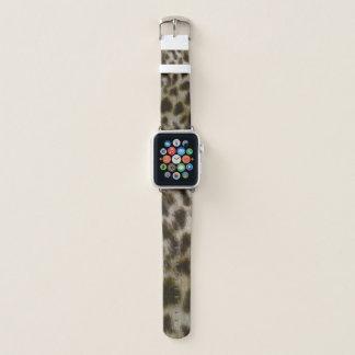 Leopard Fur Watch Band