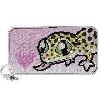Leopard Gecko Love Mini Speakers