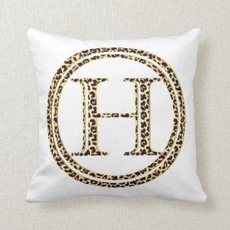 Leopard H Cushion