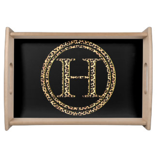 Leopard H Serving Tray