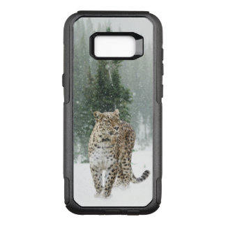 Leopard in the Snow OtterBox Commuter Samsung Galaxy S8+ Case