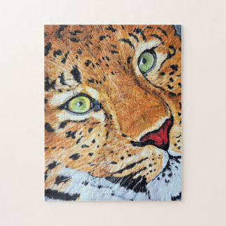 Leopard Jigsaw Puzzle